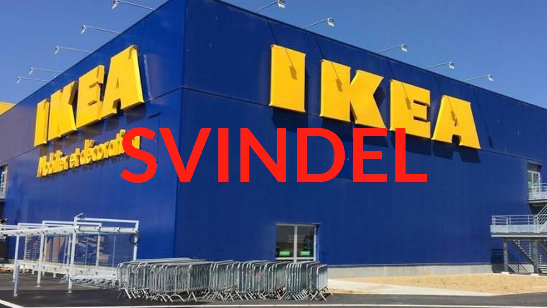 Pass på IKEA-svindel