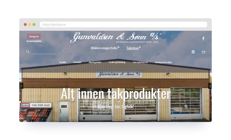 Nettbutikk for håndverkere